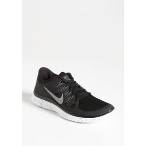 Black Nike Free 5.0 with Reflective Sw…